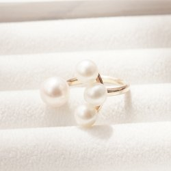 4 Pearl Ring