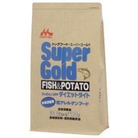 Super Gold フィッシュ&ポテト ダイエットライト2.4kg(取り寄せ商品)