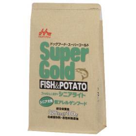 Super Gold フィッシュ&ポテト シニアライト800g入り