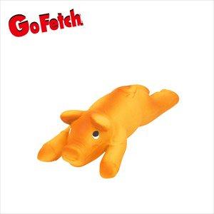 Go Fetch スーパーラテックストーイ フライングピッグ S