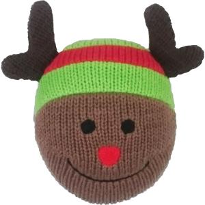 ニットnaクリスマスボール トナカイ