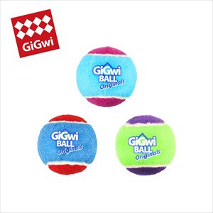 GiGwi パピーテニスボール 3P