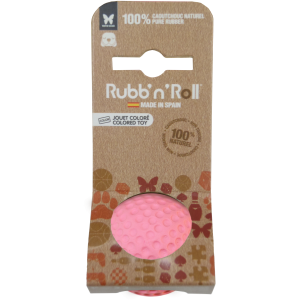 Rubb'n'Roll ルーベンロール  ソフトラバーボールパピー ピンク