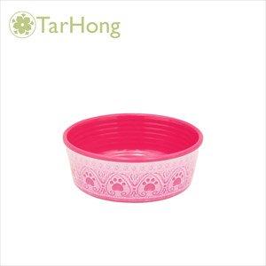 TarHong パウプリントボウル ピンク