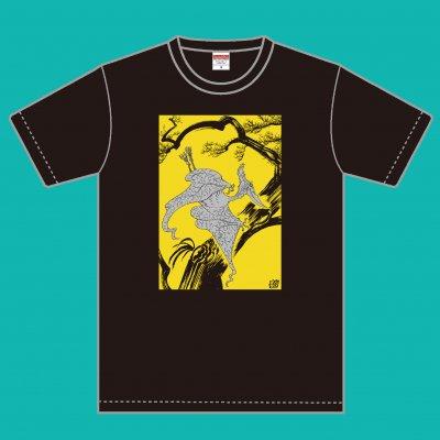 久正人 Tシャツ「松に翼龍図」