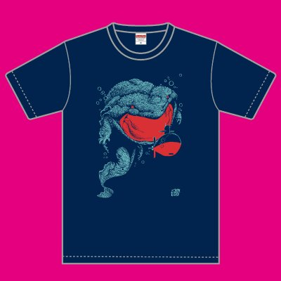 久正人 Tシャツ「オオサンショウウオ」