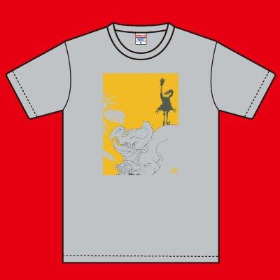 02-05 久正人 Tシャツ 無角龍図