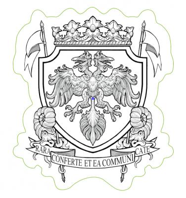 04-19 神保町ヴンダーカンマー公式 紋章ステッカー