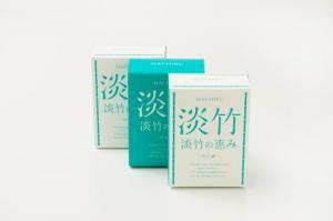 【送料無料】淡竹(はちく)石鹸「淡竹の恵み」3個セット