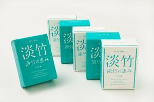 【送料無料】淡竹(はちく)石鹸「淡竹の恵み」5個セット【プラス1個サービス】