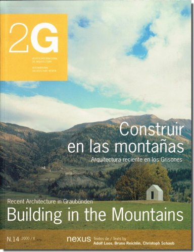 building in the mountains スイスの現代山岳建築 2g no 14 建築 古本