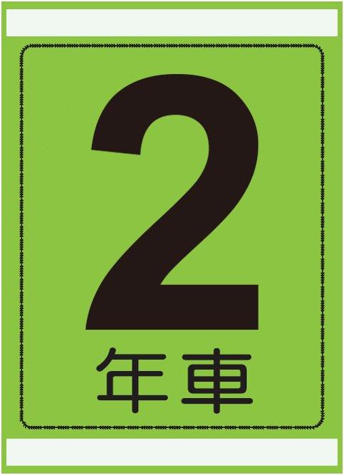 年式カード(令和2年車)