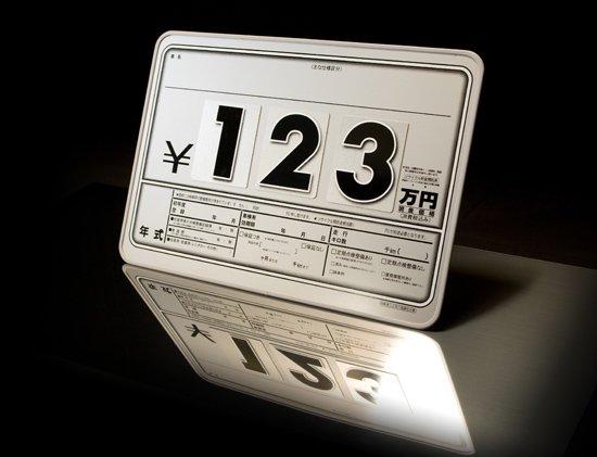 コンパクトプライスボード シルバー(ボード5枚+数字20枚お買い得セット)