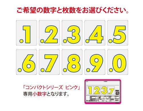 コンパクトプライスボード ピンク用小数字
