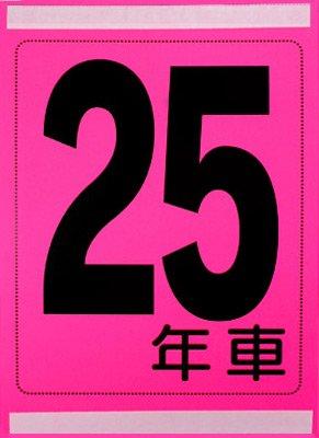 年式カード(25年車)