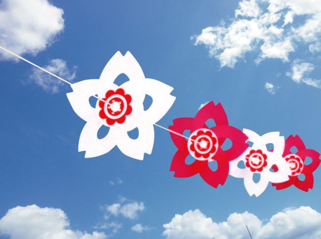 ブラッサム紅白風車