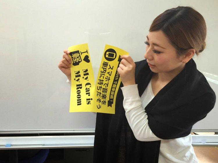 女子ポップ専用カラー用紙【A4サイズ 中央ミシン目入り】