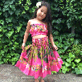 <img class='new_mark_img1' src='//img.shop-pro.jp/img/new/icons51.gif' style='border:none;display:inline;margin:0px;padding:0px;width:auto;' />子供服フラダンス・キッズパウスカート【プルメリアレイモンステラ】ピンク
