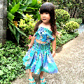 <img class='new_mark_img1' src='//img.shop-pro.jp/img/new/icons51.gif' style='border:none;display:inline;margin:0px;padding:0px;width:auto;' />子供服フラダンス・ハワイ 【キッズパウスカート ティアレレイ 】ブルー