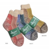 GOHEMP × ANONYMOUSISM   HEMP PILE QUARTER SOCKS (M)