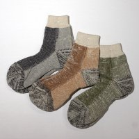 GOHEMP × ANONYMOUSISM   PILE QUARTER SOCKS (L)