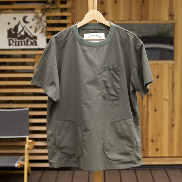 BURLAP OUTFITTER   S/S POCKET TEE