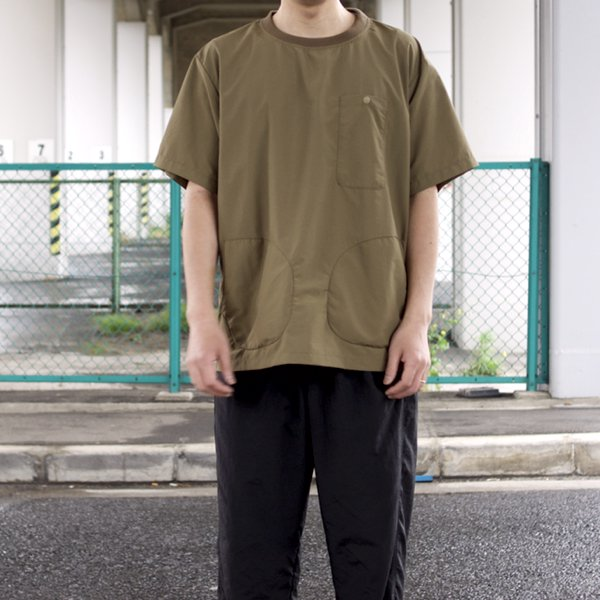 BURLAP OUTFITTER  S/S POCKET TEE  (COYOTE)