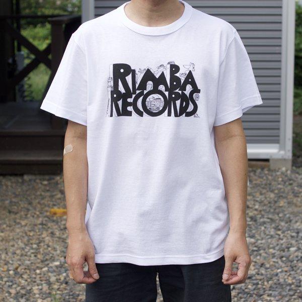 Rimba  Records Tee  (White)