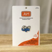 "J&M  Lapel Pin  ""Got to chill"""