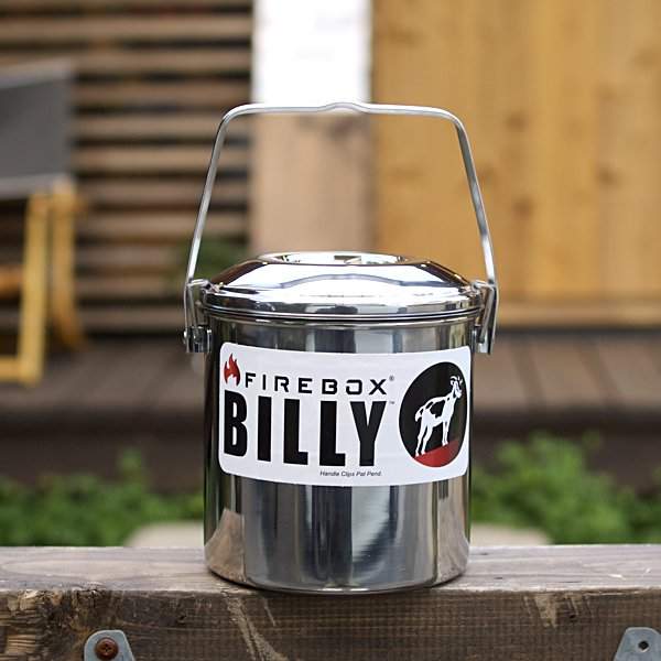 FIREBOX  Billy Bush Pot S