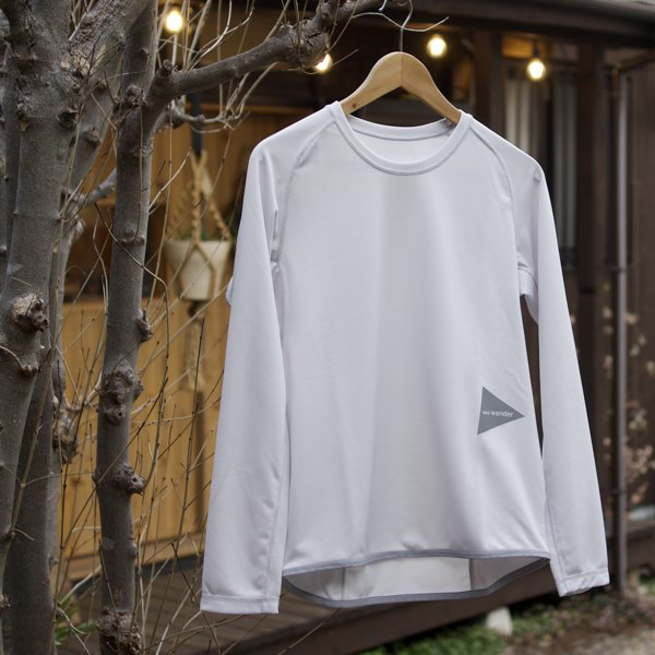 and wander  dry jersey raglan  long sleeve T (Lady's)