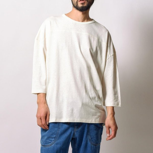 GOHEMP  WIDE FOOTBALL TEE