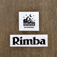 Rimba  ステッカー 2枚入り