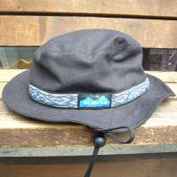 <img class='new_mark_img1' src='//img.shop-pro.jp/img/new/icons47.gif' style='border:none;display:inline;margin:0px;padding:0px;width:auto;' />KAVU  Strap Bucket Hat  (BLACK-1)