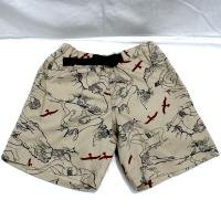 <img class='new_mark_img1' src='https://img.shop-pro.jp/img/new/icons47.gif' style='border:none;display:inline;margin:0px;padding:0px;width:auto;' />WILDTHINGS  CLIMBER PRINT CLIMBING  SHORT (KHAKI)