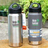 KLEAN KANTEEN  kanteen bottle  wide insulated 16oz (473ml)