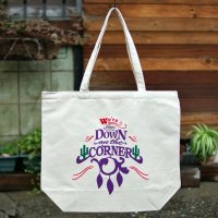 DOWN ON THE CORNER  TOTE BAG CACTUS & SAGE