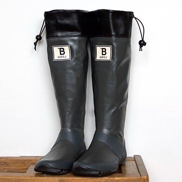 バードウォッチング長靴  (グレー)
