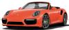 【ミニチャンプス】 1/43 ポルシェ 911 (991.2) ターボ S カブリオレ 2017 オレンジ ■ダイキャスト[410067181]