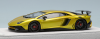 【アイドロン】 1/43 ランボルギーニ アヴェンタドール LP750-4 SV 2015 キャンディゴールド (ラージブラックSVロゴ) 限定30台[EM358F]