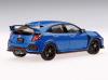 【TSM】  1/43 Honda シビック Type R ブリリアントスポーティブルー・メタリック (右ハンドル)日本国内仕様 ダイキャストモデル [TSM430276]