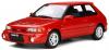 【OttO mobile オットーモビル】 1/18 マツダ 323 GT-R (ファミリア)(レッド)世界限定 999個 [OTM255]
