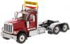 【ダイキャストマスター】 1/50 インターナショナル HX520 タンデム トラクター レッド [DM71002]