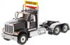 【ダイキャストマスター】 1/50 インターナショナル HX520 タンデム トラクター メタリックブラック [DM71003]
