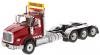 【ダイキャストマスター】 1/50 インターナショナル HX620 トライデム トラクター レッド [DM71008]