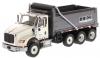 【ダイキャストマスター】 1/50 インターナショナル HX620 ダンプ トラック ホワイト/ガンメタル [DM71013]