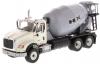 【ダイキャストマスター】 1/50 インターナショナル HX615 コンクリート ミキサー ホワイト/ライトグレー [DM71014]