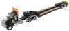 【ダイキャストマスター】 1/50 インターナショナル HX520 タンデム トラクター XL 120 トレーラー ブラック            (リアブースター付き) [DM71017]