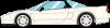 【アイドロン】 1/43 ホンダ NSX-R (NA2) 2002 チャンピオンシップホワイト[EM389A]