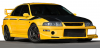 【イグニッションモデル】 1/18 三菱 ランサーエボリューション � GSR T.M.E (CP9A) Yellow   ★生産予定数:120pcs [IG1553]
